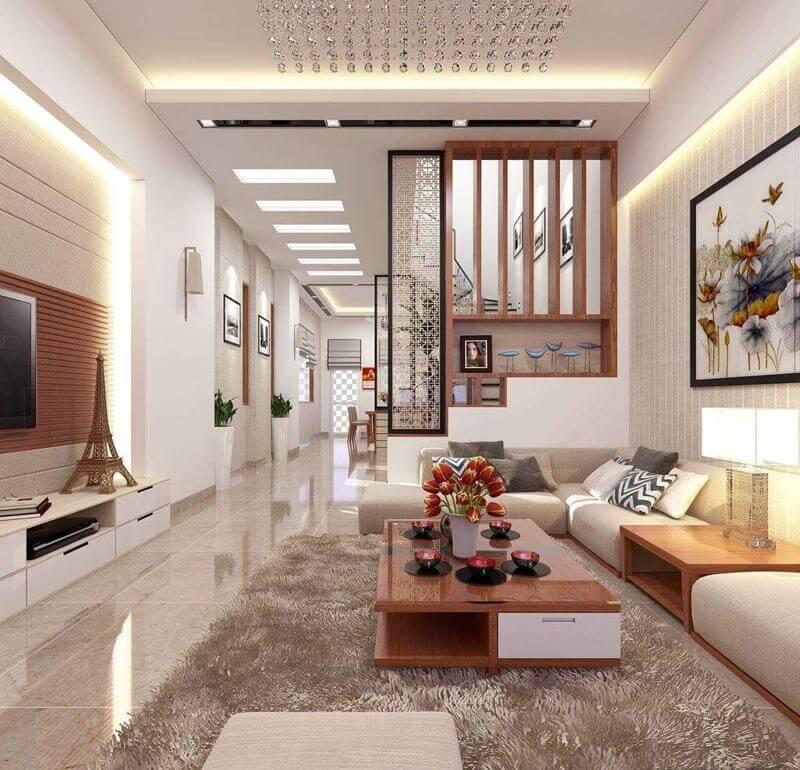 Thiết kế phòng khách nhà ống 2