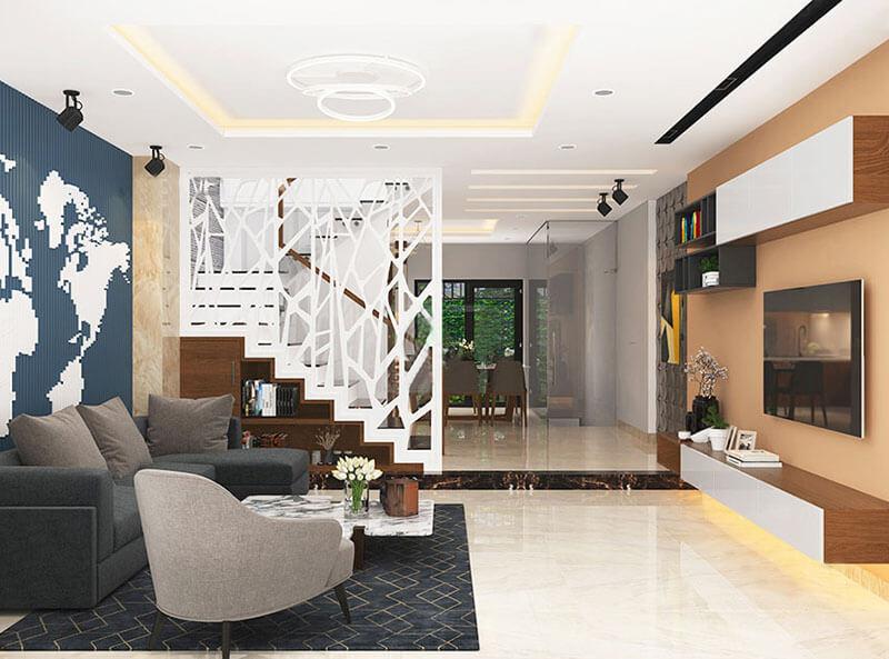 Thiết kế phòng khách nhà ống 3