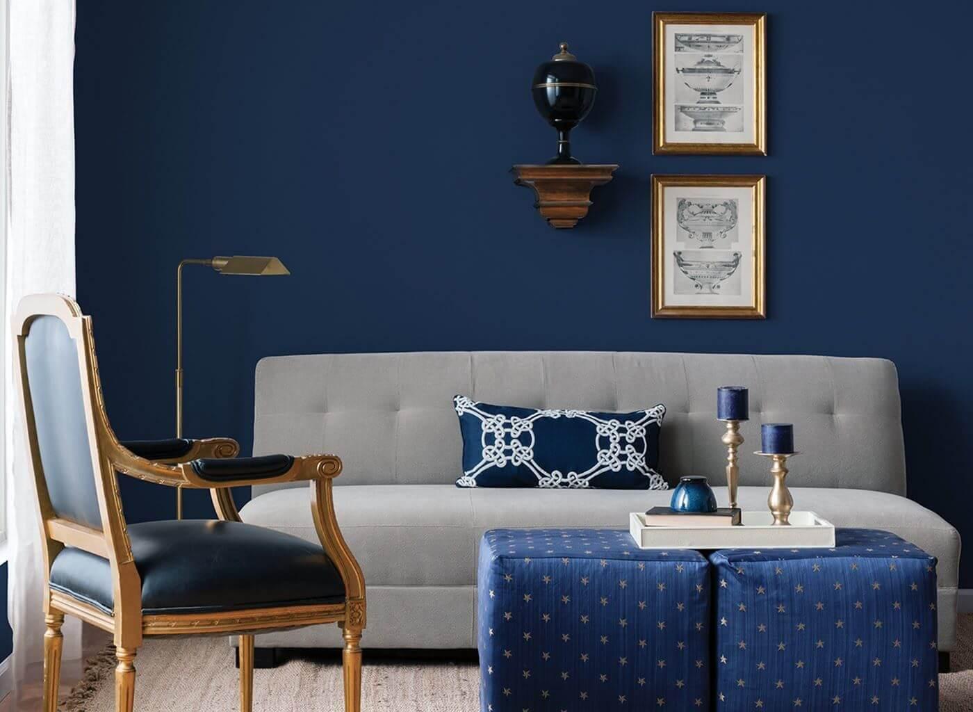 Trang trí tường phòng khách đơn giản