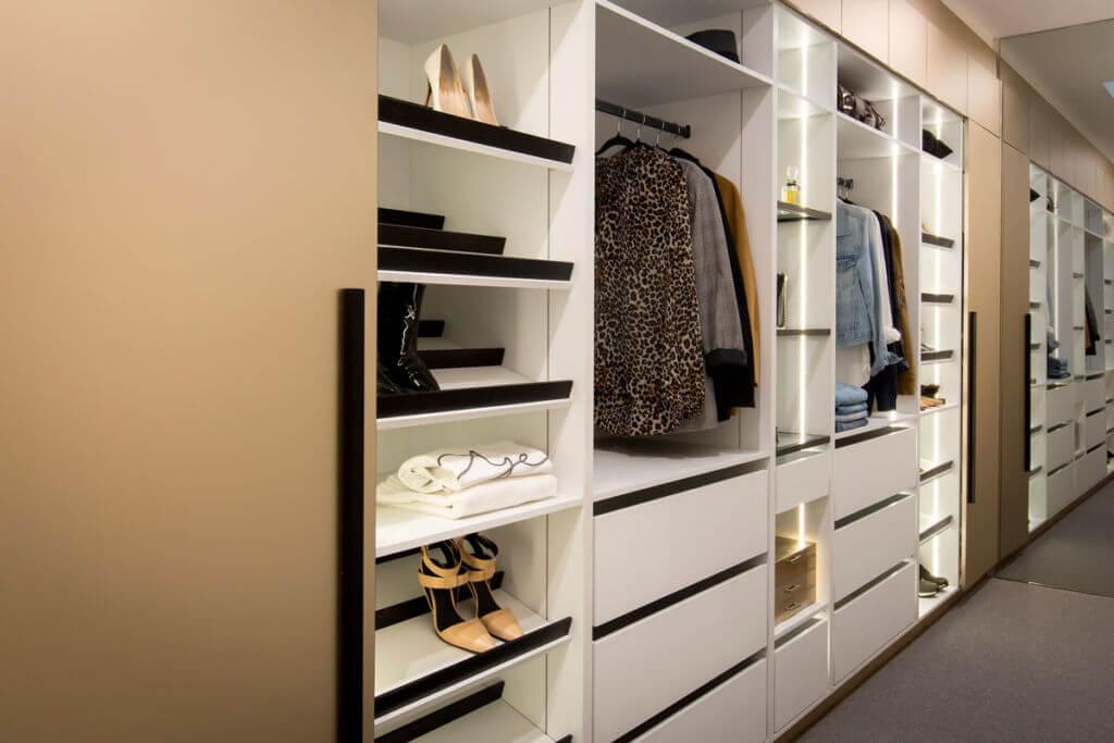 Tủ quần áo kèm tủ giày