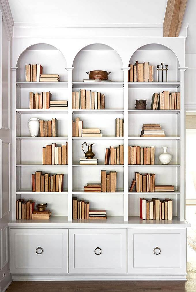 Tủ sách có ngăn kéo