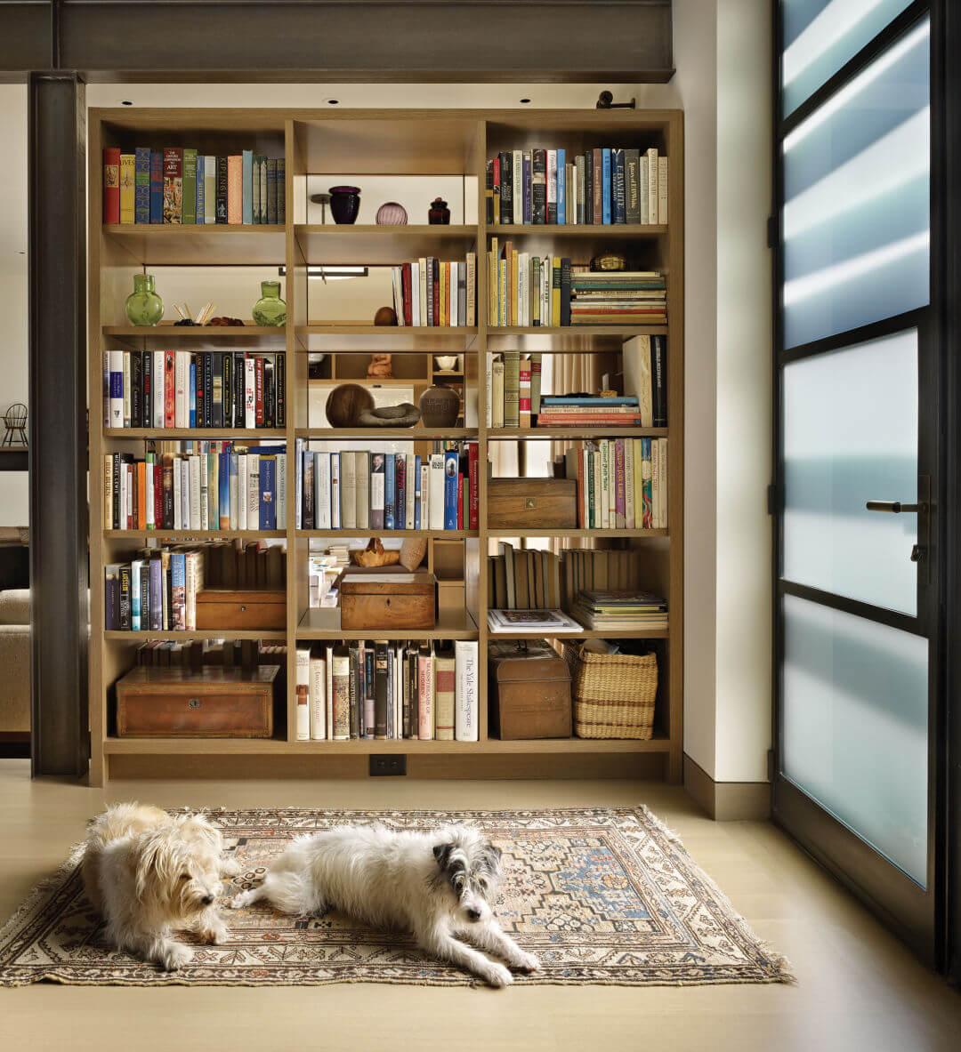 Tủ sách ngăn phòng đẹp